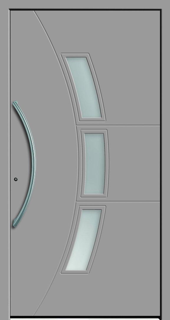 cemia sch co alu haust r mit einsatzf llung und 3 fach verglasung t. Black Bedroom Furniture Sets. Home Design Ideas