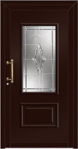 elynia sch co alu haust r einsatzf llung 3 fach verglasung mit glasschliff t. Black Bedroom Furniture Sets. Home Design Ideas